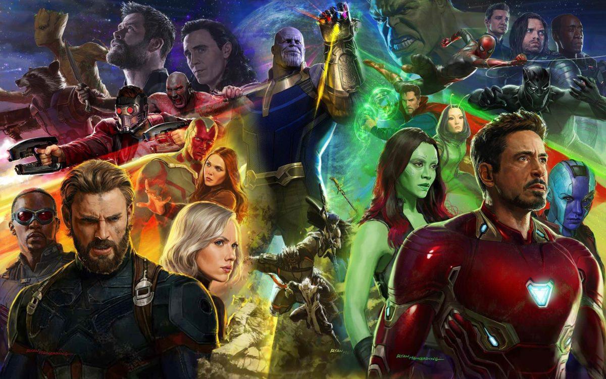 Avengers Infinity War Background Wallpaper 27131 – Baltana