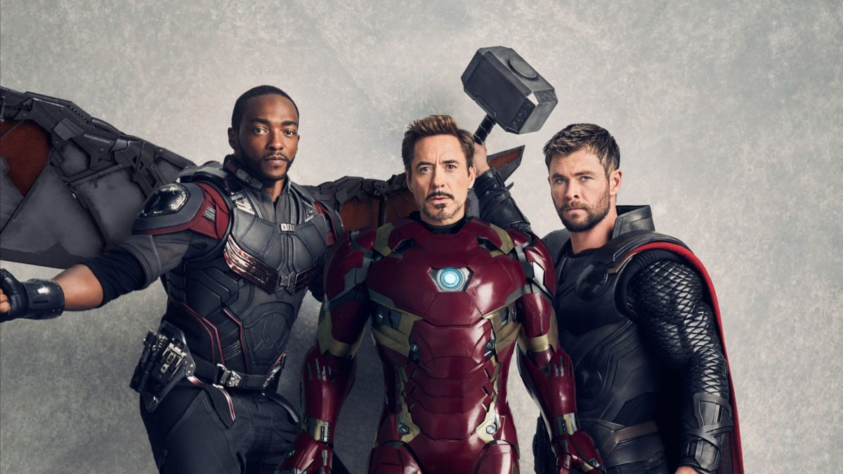 Wallpaper Avengers: Infinity War, Falcon, Iron Man, Thor, 4K, Movies …