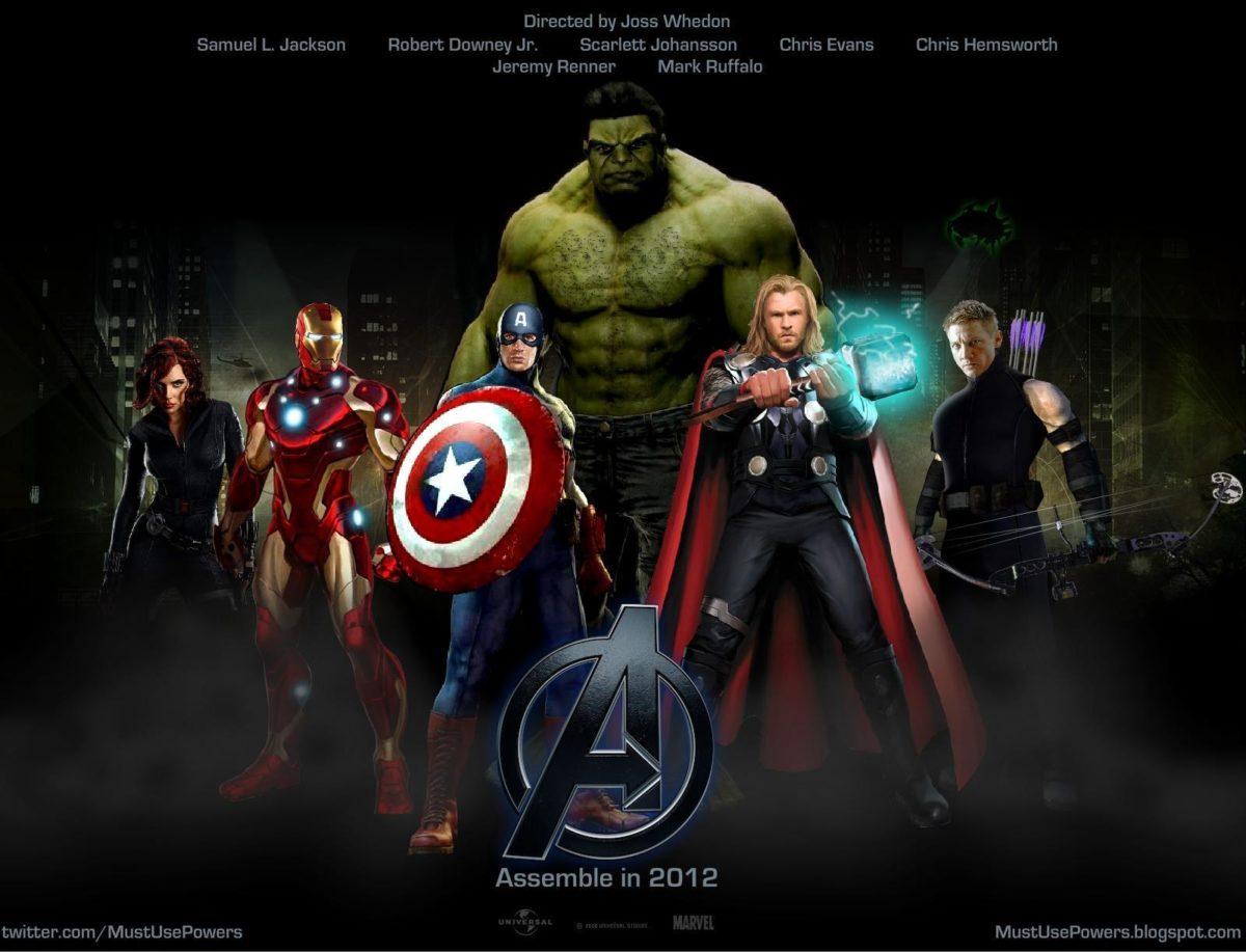 avengers movie logo wallpaper | walljpeg.