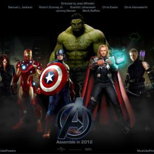 download avengers movie logo wallpaper | walljpeg.