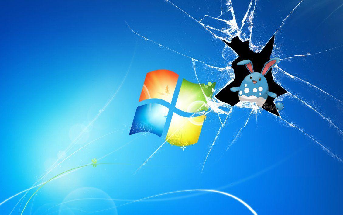 Azumarill broke Windows by goldmelonmaster on DeviantArt