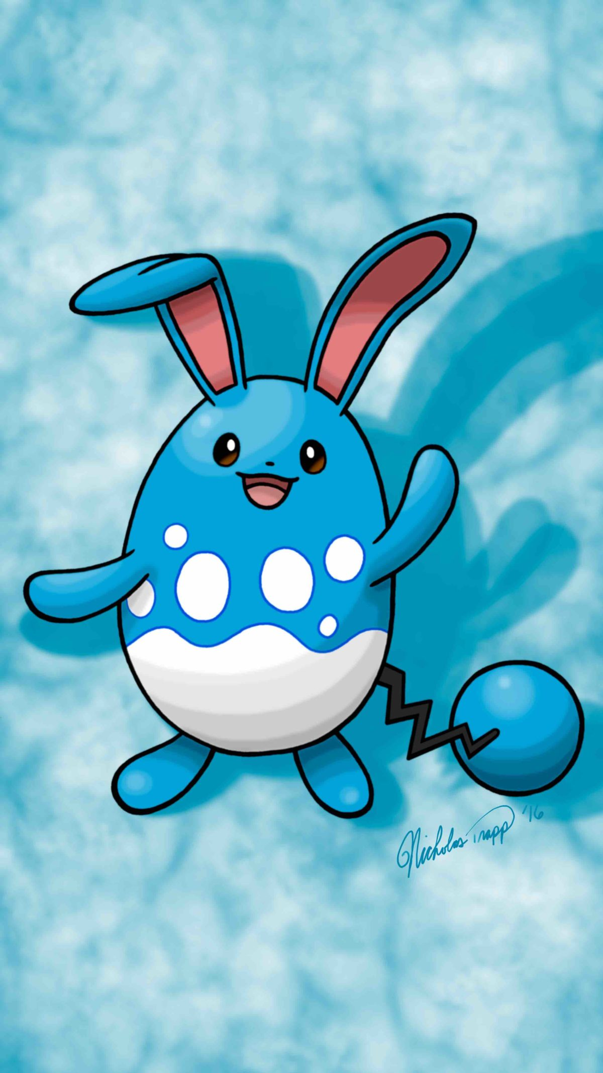 As requested here is the Azumarill Wallpaper | Pokémon | Pinterest …