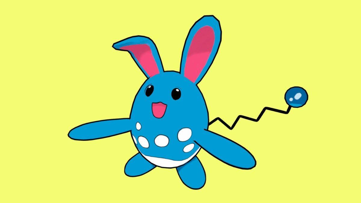 Pokemon – Azumarill by skilu.fbx – 3D model – Sketchfab