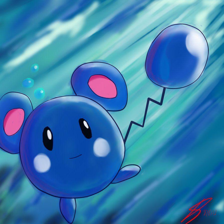 Pokemon – Azurill by DaeDrea on DeviantArt