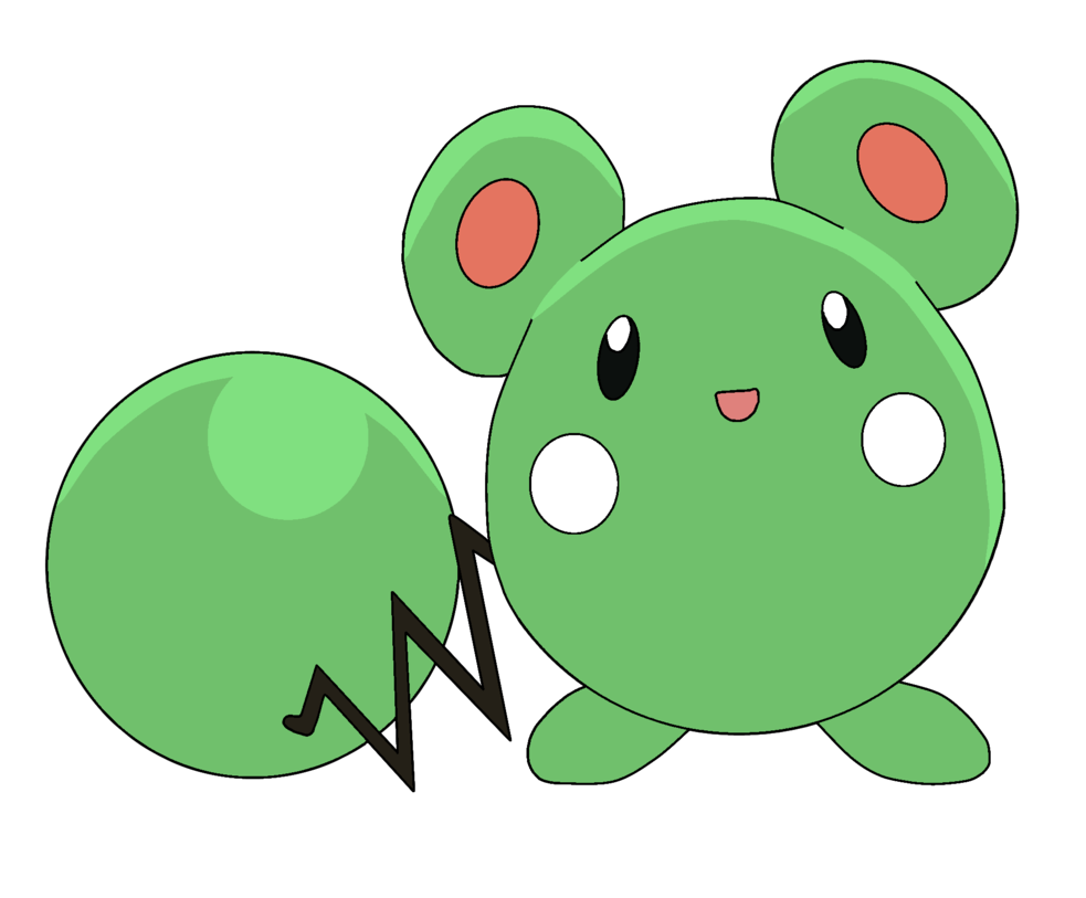 Pokemon Azurill 298 Lineart Farbig Shiny by WallpaperZero on DeviantArt