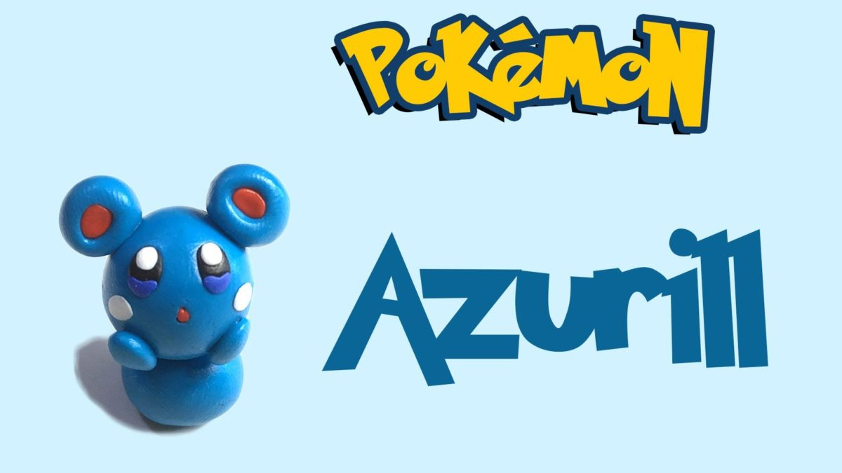 Bunbum's howto Azurill | Pokemon Go series | Playdoh/Clay tutorial …