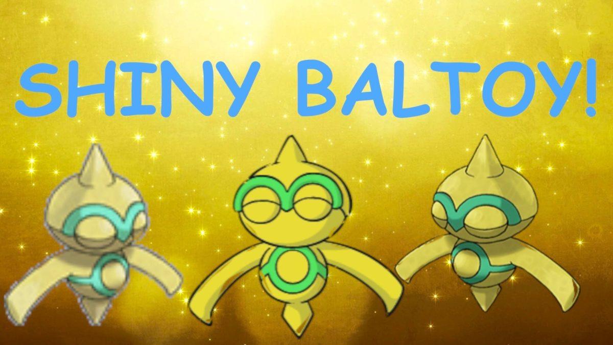 Shiny Baltoy in Pokemon Black 2 after 4,093 random encounters …