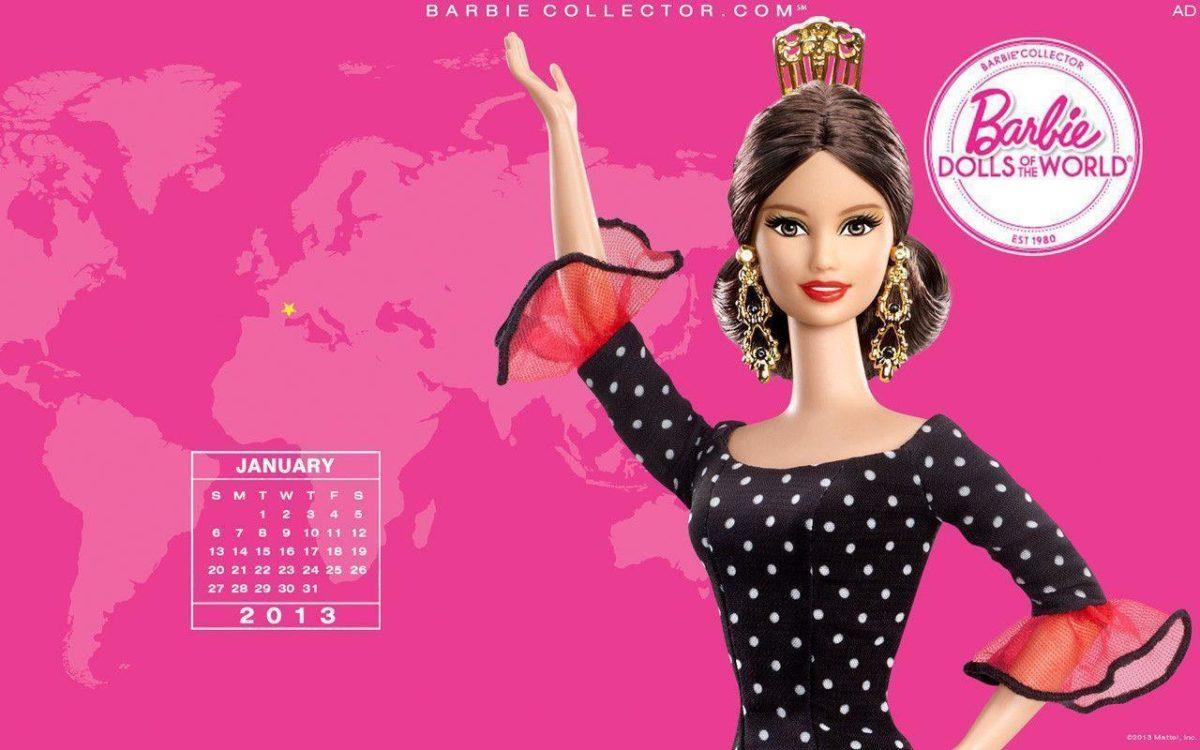 Januray 2013 – Barbie Collectors Wallpaper (33202461) – Fanpop