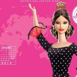 download Januray 2013 – Barbie Collectors Wallpaper (33202461) – Fanpop