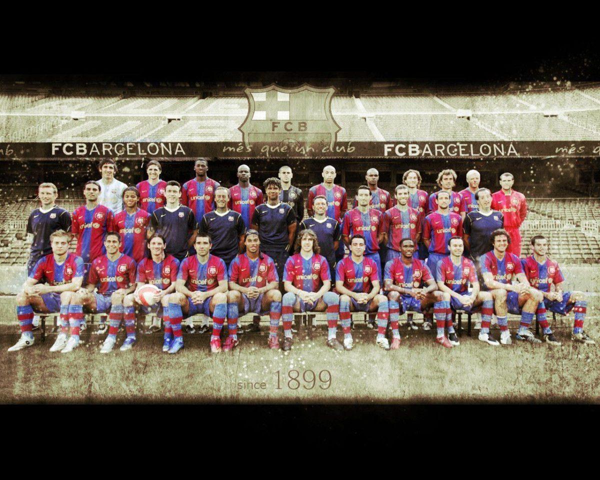 Sport: Fc Barcelona Wallpaper Old Style, barcelona images …