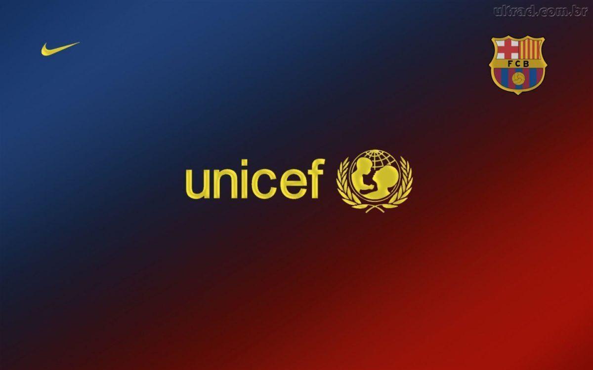 Unicef Barca Wallpaper   4hotos