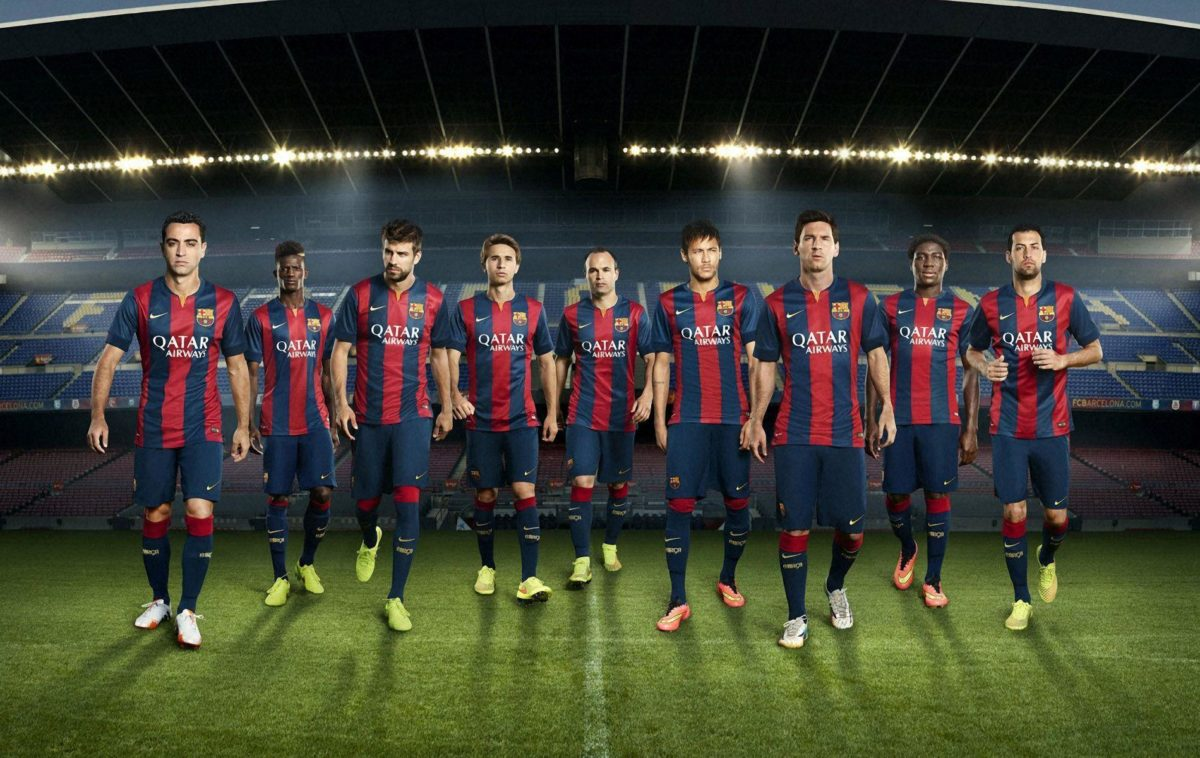 FC Barcelona 2014-2015 New Nike Home Kit Wallpaper Wide or HD …