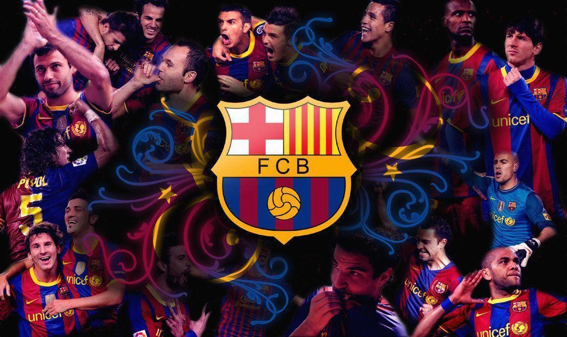 Fc Barcelona Wallpaper Team 4500 Full HD Wallpaper Desktop – Res …