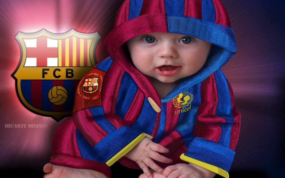 FC Barcelona Baby Wallpaper | Download High Quality Resolution …