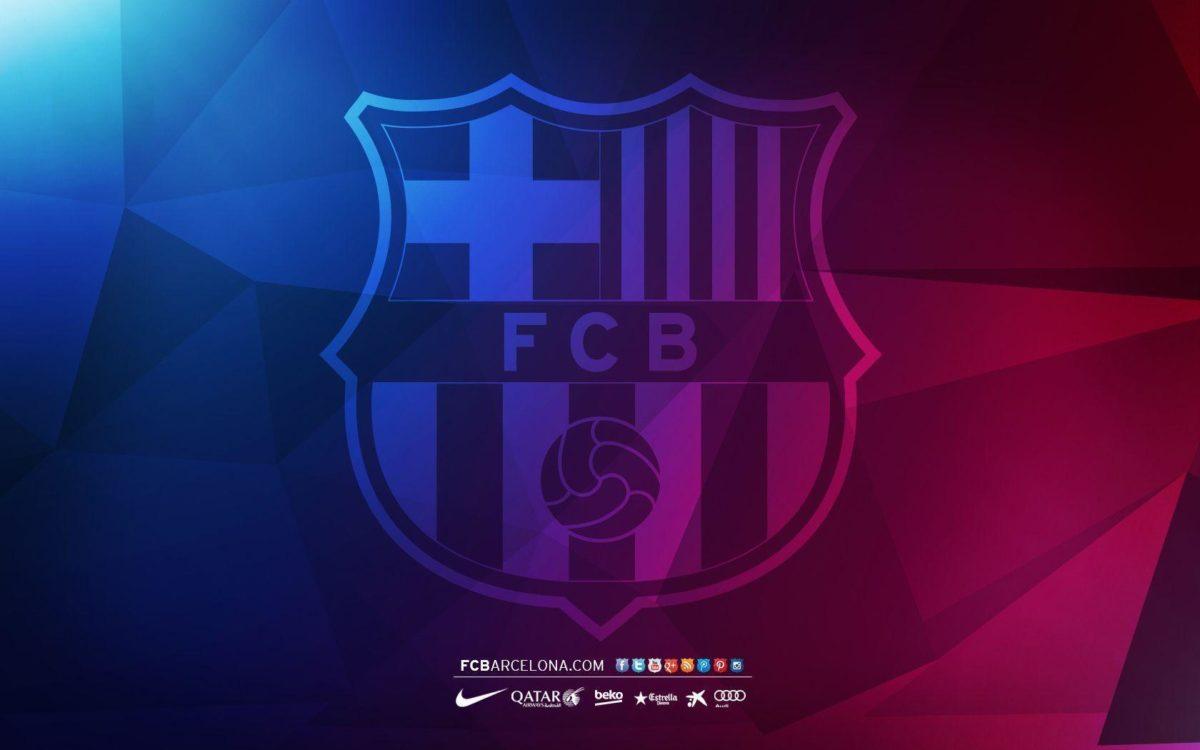 FCB crest 04 – Wallpaper – FC Barcelona
