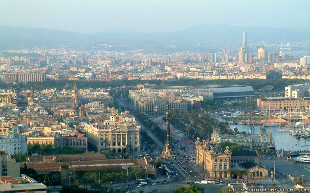 Barcelona City Wallpapers: HD Wallpapers for Desktop And Mobile