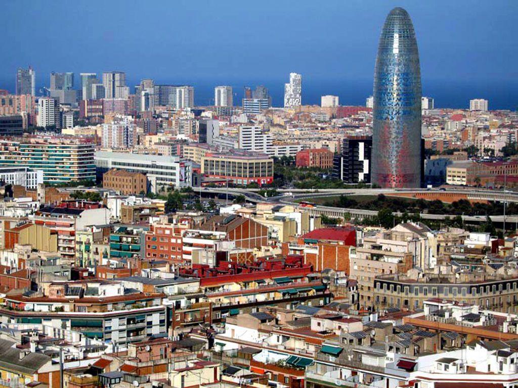 Barcelona City 1024×768 wallpaper