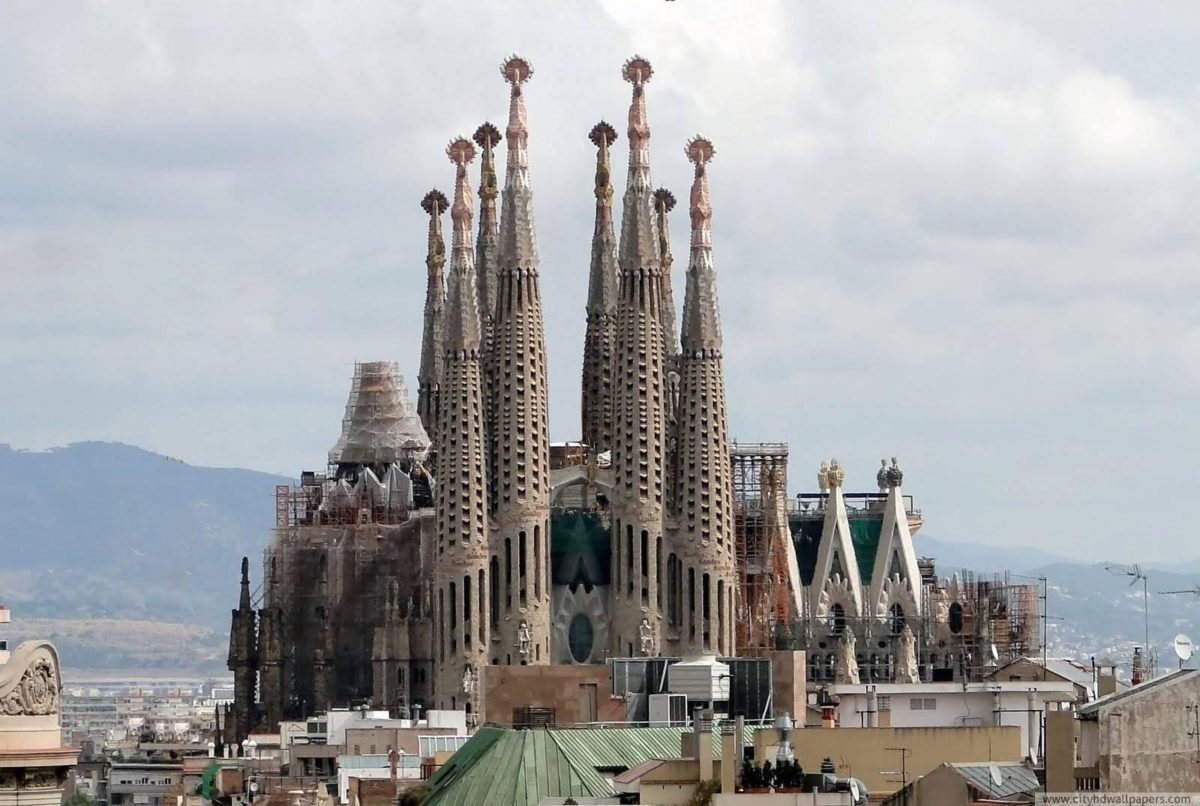 The magnificent la sagrada familia church in Barcelona | city …