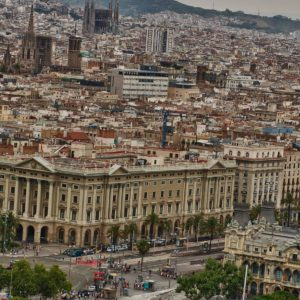 download The architectural style of Barcelona city | city wallpaper