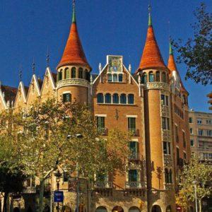 download Beautiful building of Casa de las Punxes in Barcelona city   city …