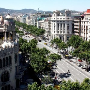 download Barcelona Street wallpaper
