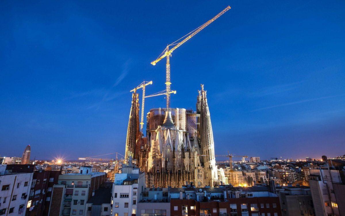 HD wallpaper City night, barcelona, city 1920×1200 | IMAGEIF