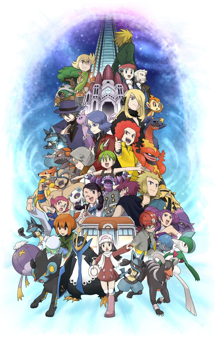 bastiodon, chimchar, cranidos, denji, diamond, and others (pokemon …