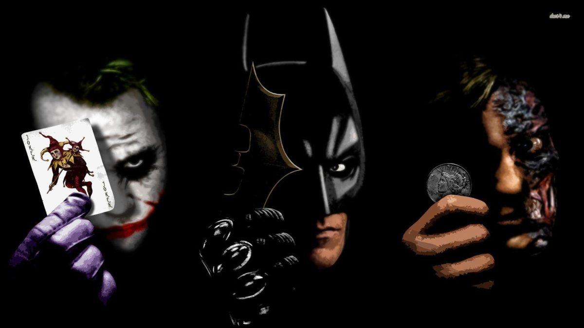 Joker, Batman and Two Face wallpaper – Movie wallpapers – #