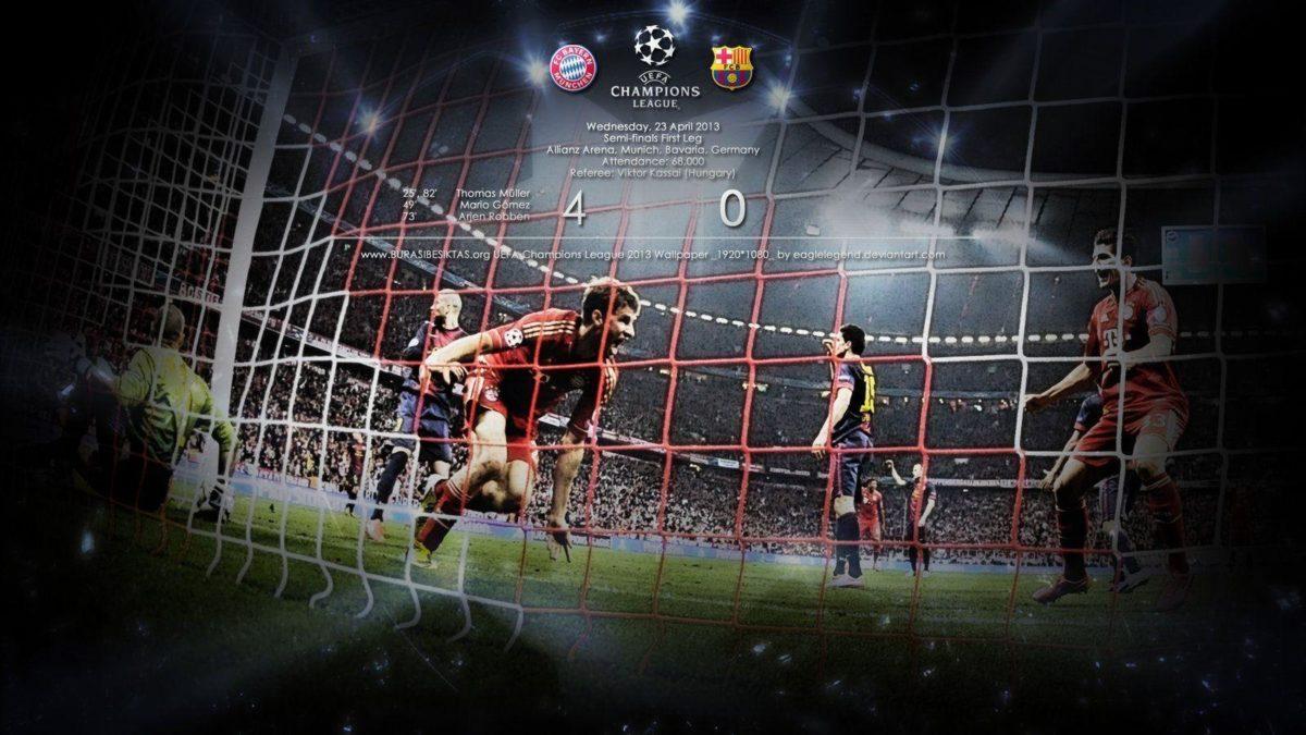 Bayern Munich vs Barcelona Wallpaper by eaglelegend on DeviantArt