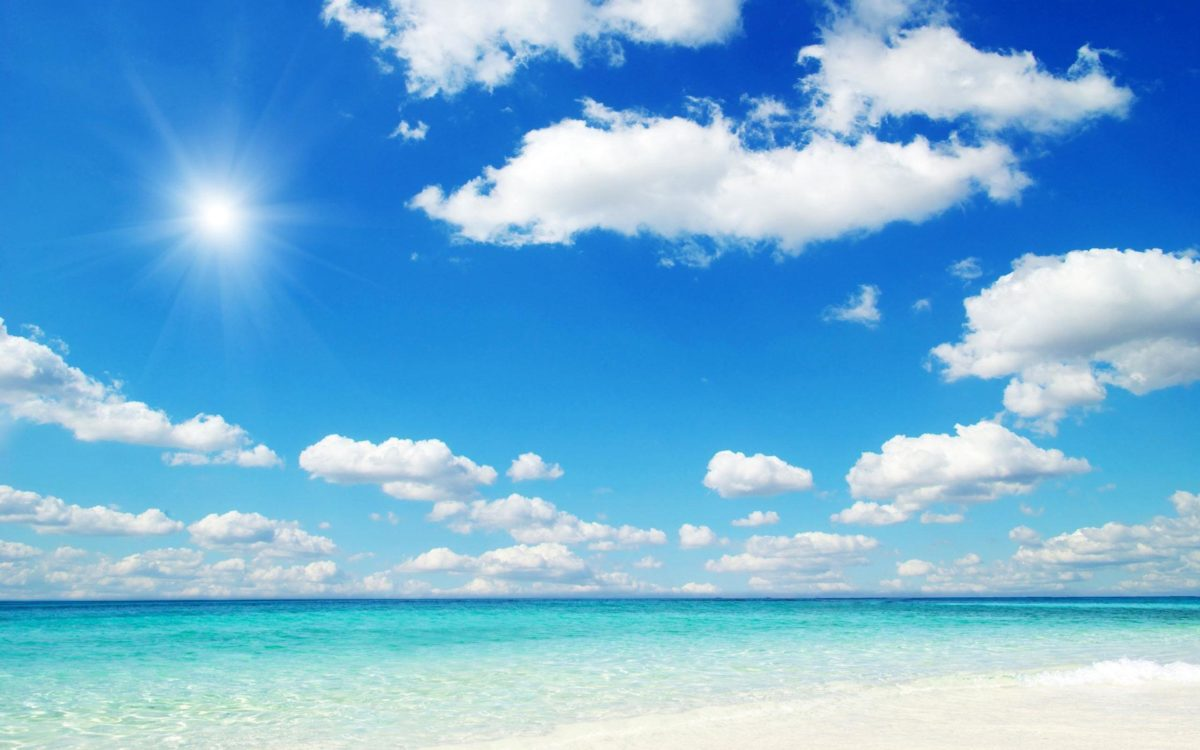 Beach Blue Sky PC Wallpapers – HD Wallpapers Inn