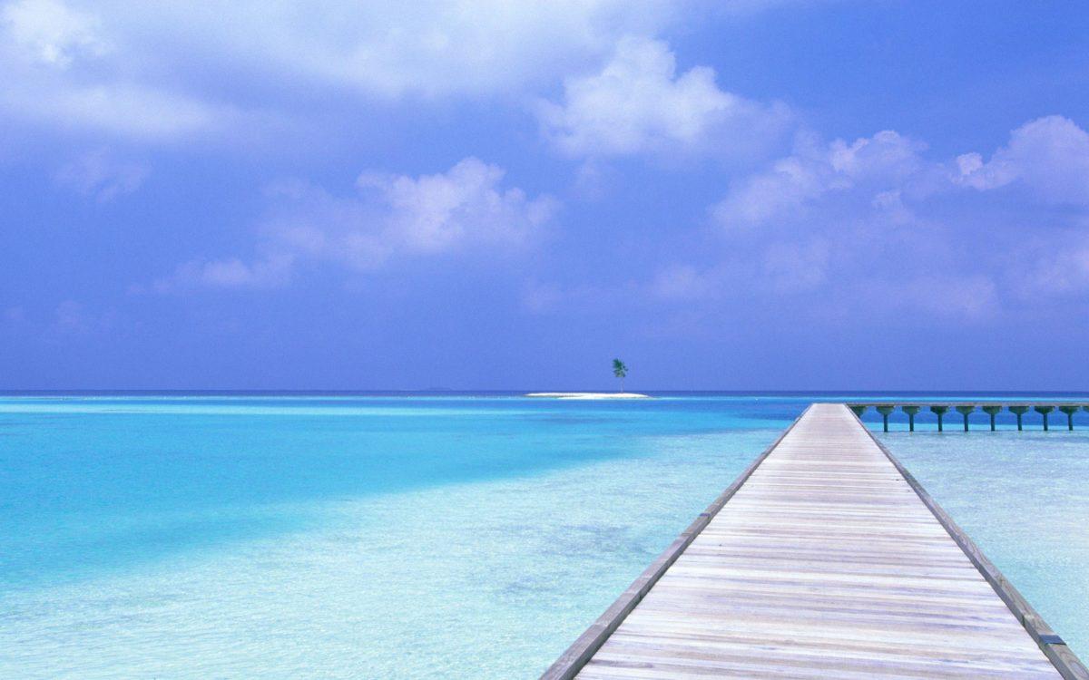 Beach Blue Sky Wallpapers | HD Wallpapers