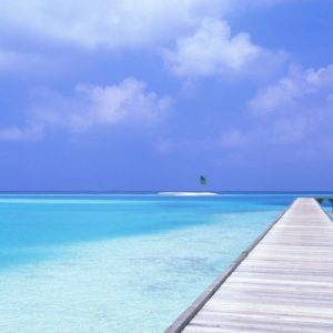 download Beach Blue Sky Wallpapers | HD Wallpapers