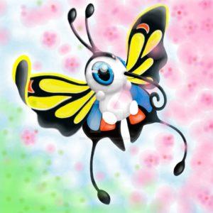 download Beautifly in Sakura blossoms by SilverDust20383 on DeviantArt