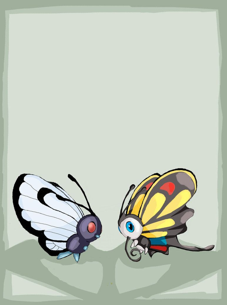 Butterfree and Beautifly by experimental-thing on DeviantArt