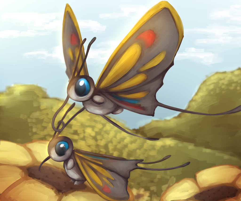 Beautifly – Pokemon Challenge 1: Bug type by A-Psycho-Banana on …