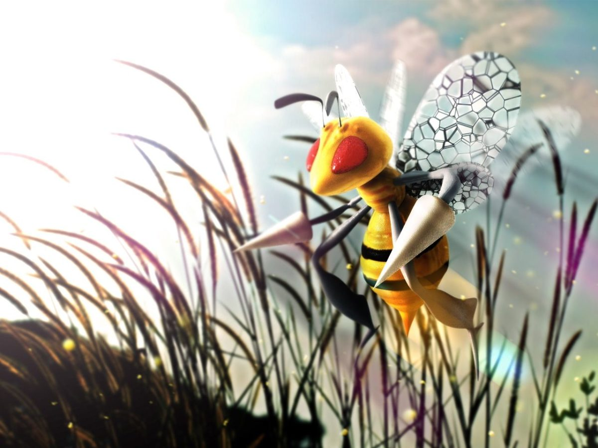 pokemon beedrill 1280×960 wallpaper High Quality Wallpapers,High …