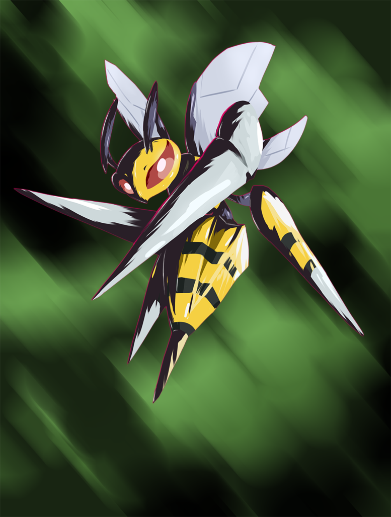 Mega Beedrill by nintendo-jr on DeviantArt