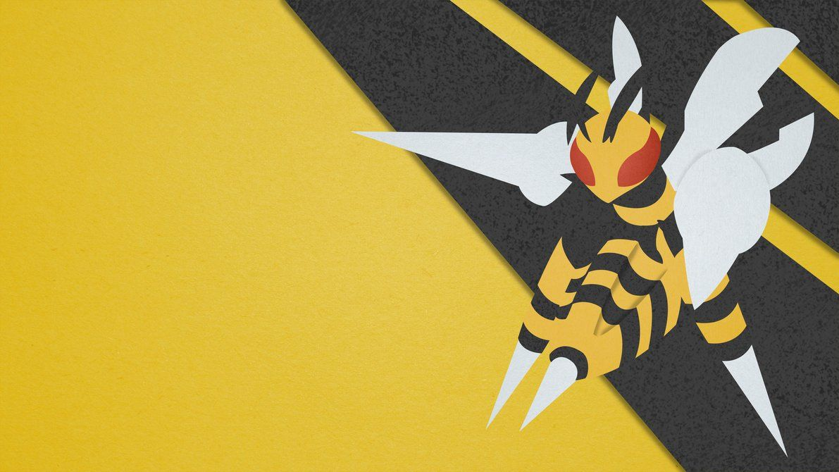 Mega Beedrill – Material Design by EugenianToons on DeviantArt