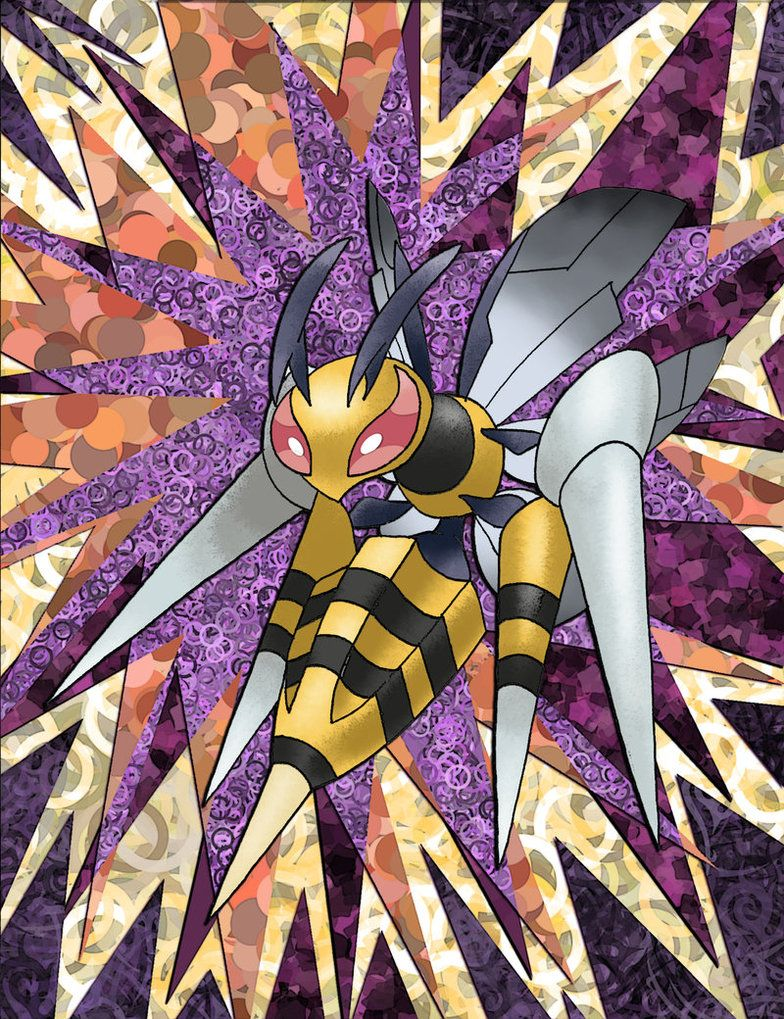 Mega Beedrill by Macuarrorro on DeviantArt