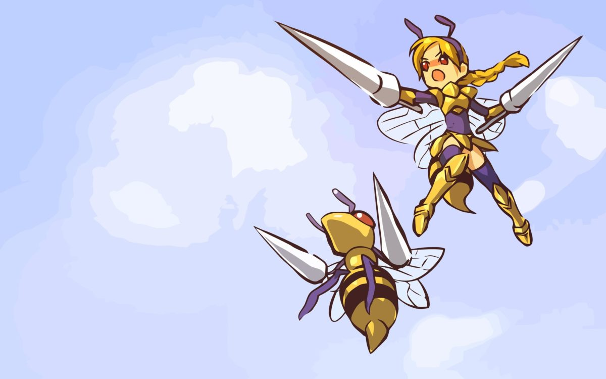 pokemon beedrill fan art 2560×1600 wallpaper High Quality …