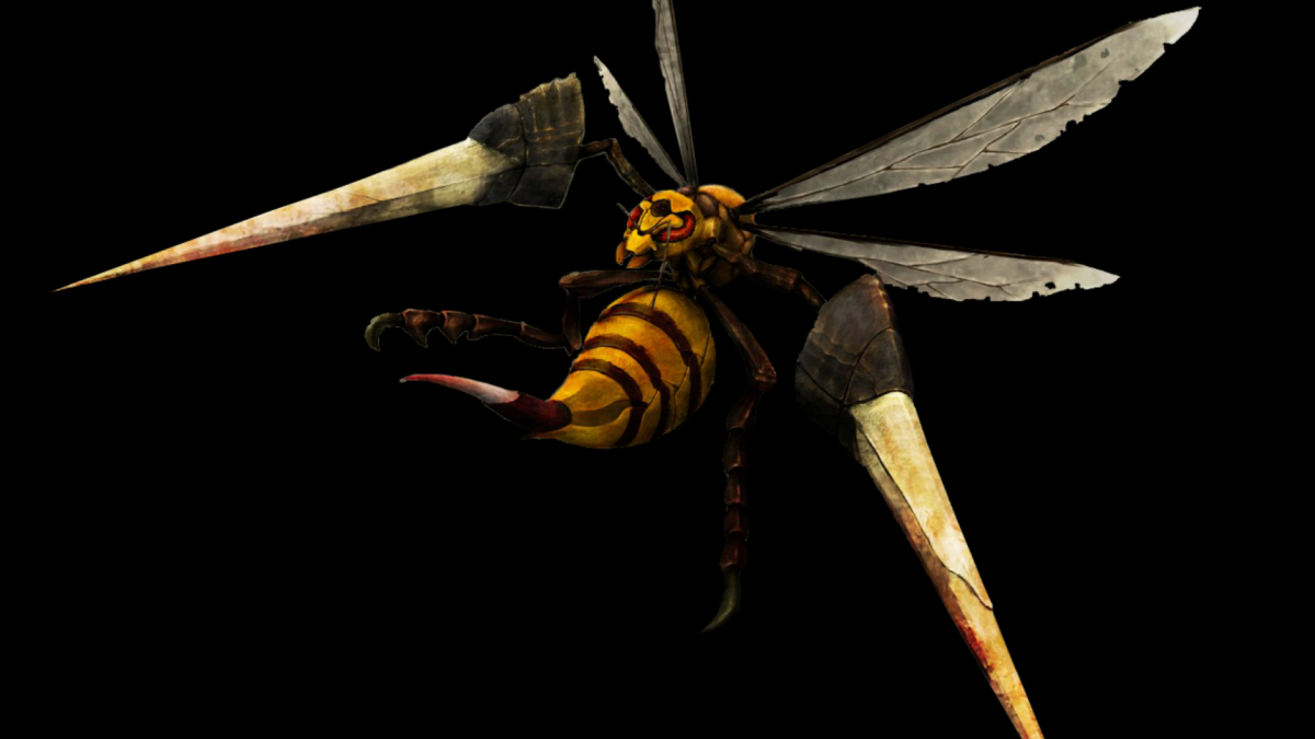 ScreenHeaven: 3D Beedrill Pokemon desktop and mobile background