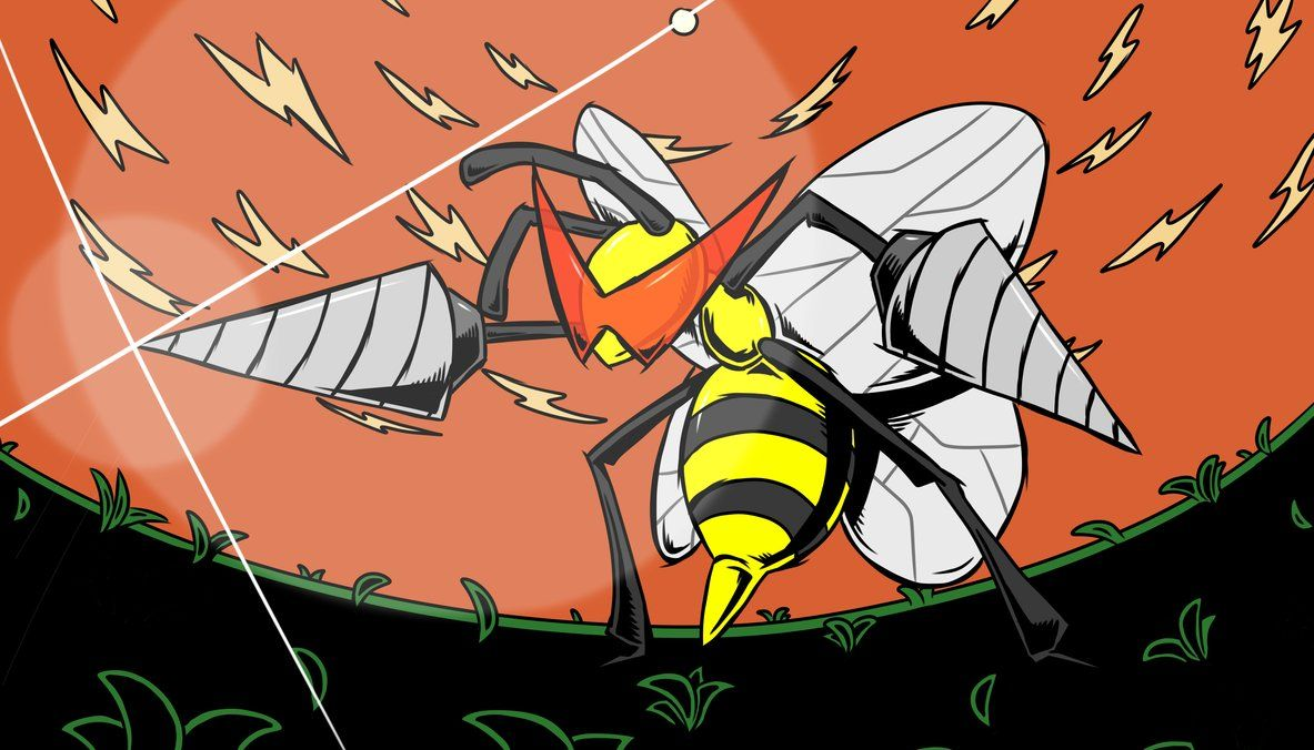 Tengen Toppa Beedrill by bg4strings on DeviantArt