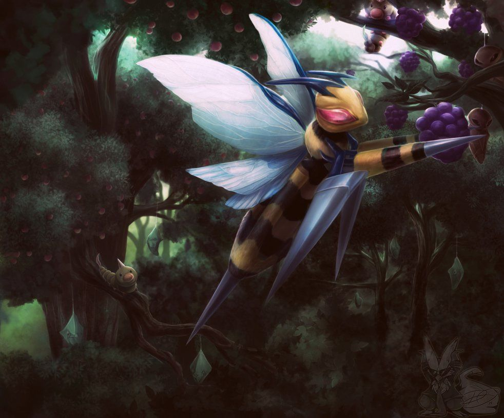 Mega Beedrill by DenaJarawr on DeviantArt | Bug Pokemon …