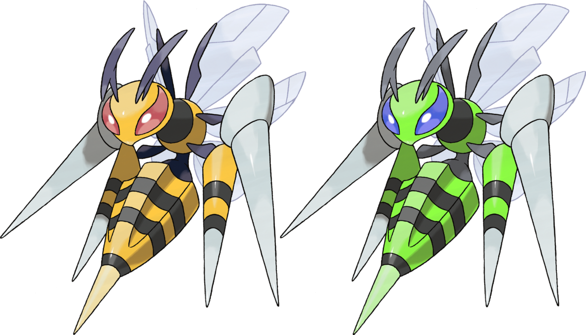Mega Beedrill by KrocF4 on DeviantArt