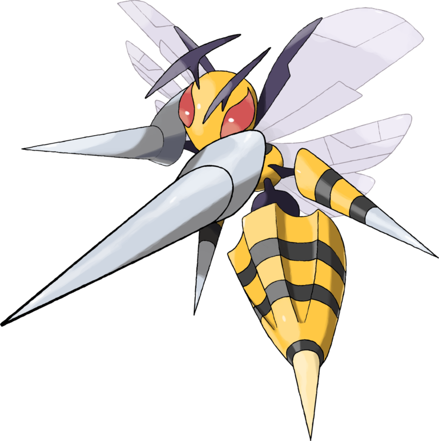 Mega Beedrill by TheAngryAron on DeviantArt
