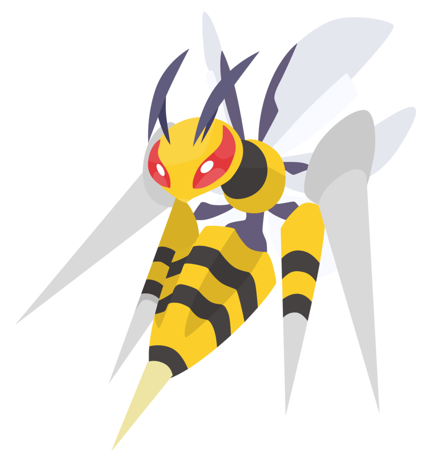 Mega Beedrill – Pokemon ORAS Vector by firedragonmatty on DeviantArt