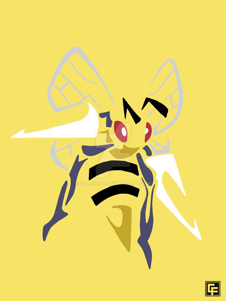 Beedrill (Tribal) by calfrills on DeviantArt