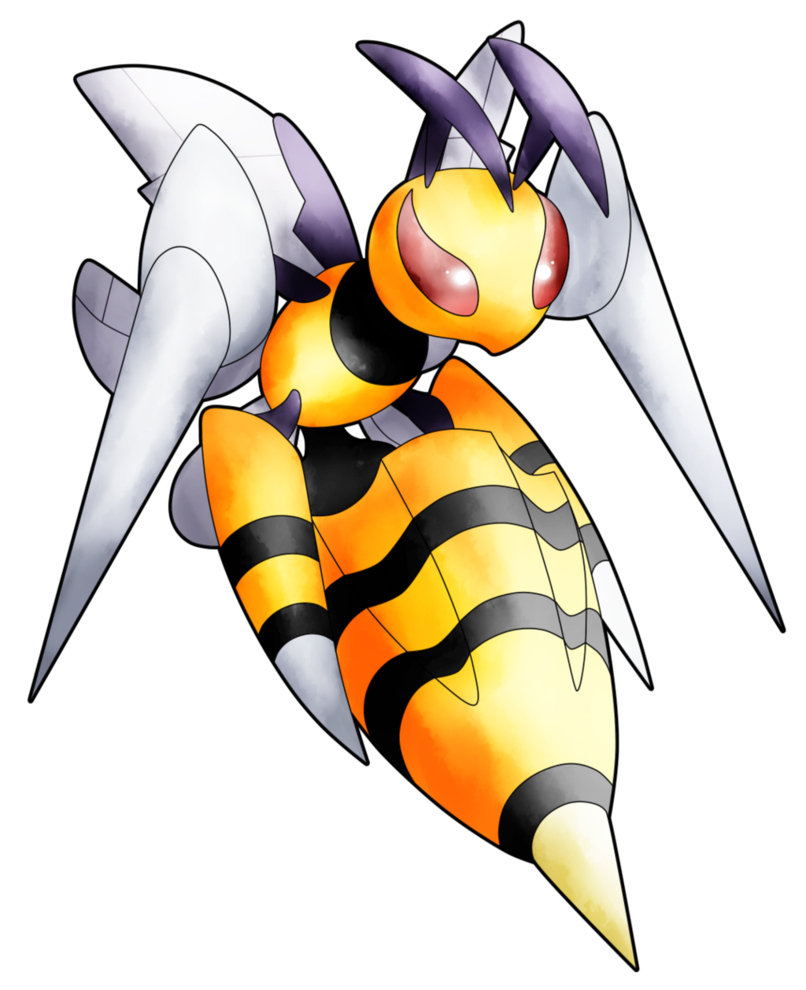 Mega Beedrill by AR-ameth on DeviantArt