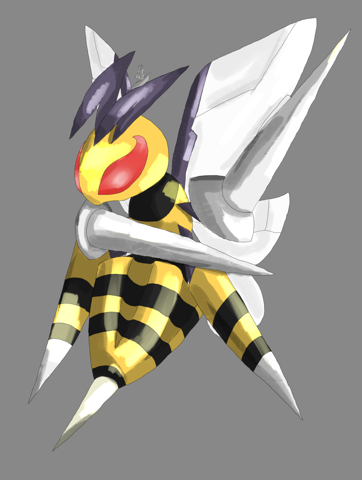 Mega Beedrill Vs Mega Pidgeot by Harijizo on DeviantArt