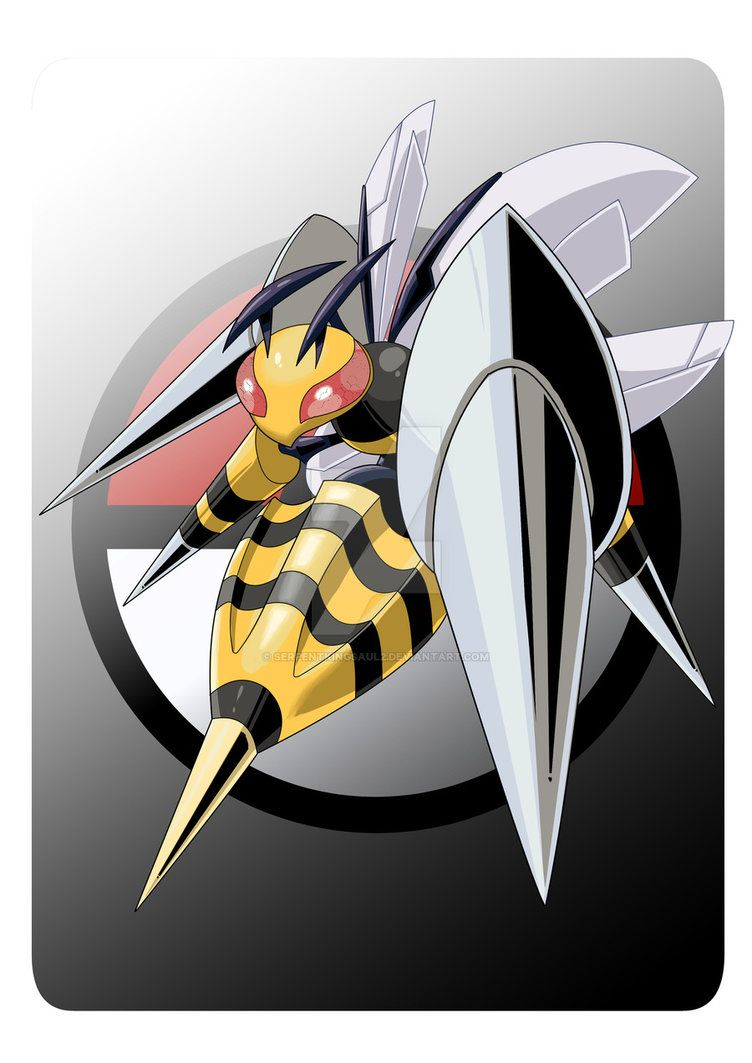 Mega Beedrill. by Serpentkingsaul2 on DeviantArt